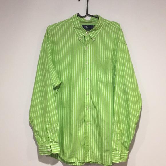 Ralph Lauren Blue Label Other - Ralph Lauren 100% cotton Dress Shirt Sz XXL